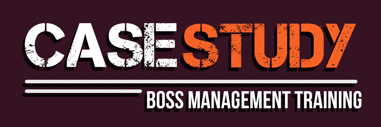 BOSS MANAGEMENT TRAINING