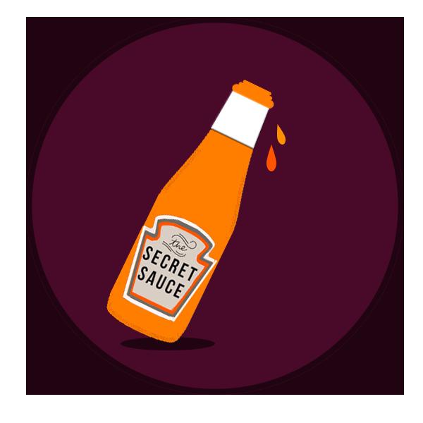 Kinetix Sauce Bottle